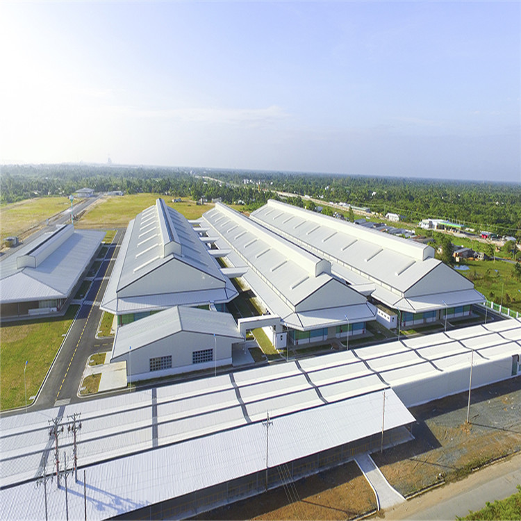 China-supplied Steel Structure Warehouse Stainless Steel Prefabricated Warehouse House