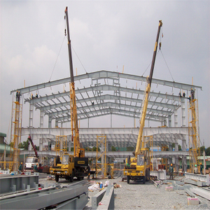Customizable Steel Structure Warehouse for Large Factory Workshops