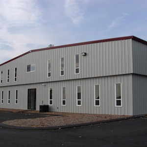 2018 Hot-selling Steel Structure Warehouse for Factory Warehouse Color Optional