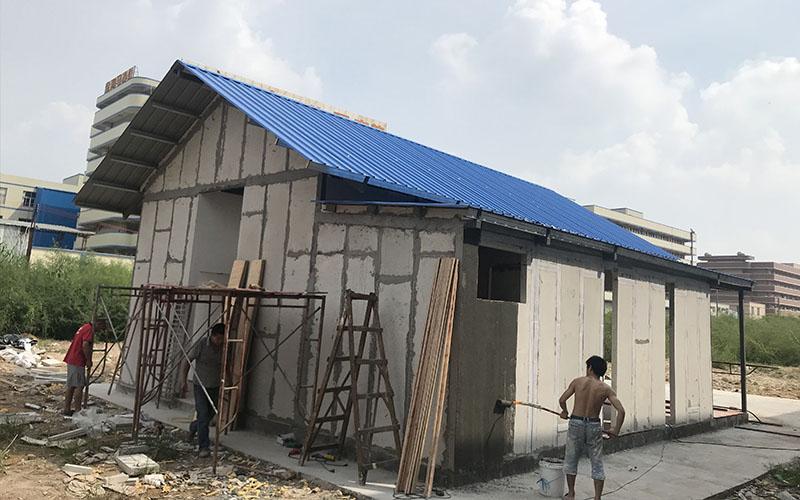 EPS cement sandwich panel house,modular house