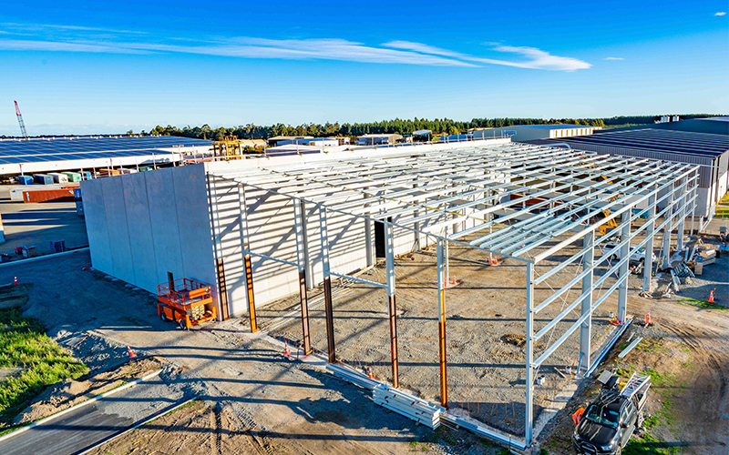 Building Large Span Homes Ready Install Prefab Metal Steel Structure Warehouse