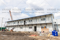Ghana Sandwich Panel Living House Project
