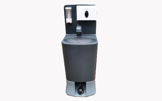 Free Stand portable HDPE hand wash sink with waste tank