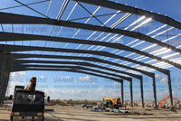 New Zealand Retail Center Steel Structure Building Project