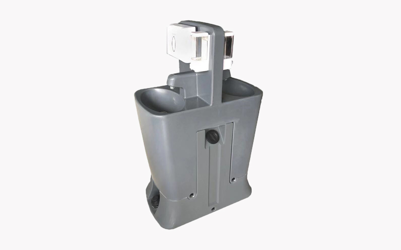 2020 Hot Sale Hand Free Portable Washbasin Plastic Standing Hand Washing Station