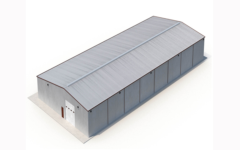 Industrial Structural Steel Plant Factory Building Shed Design Price Fabrication Layout Low Cost Prefab Steel Structure Workshop