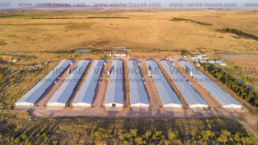 South Africa Poultry House Project