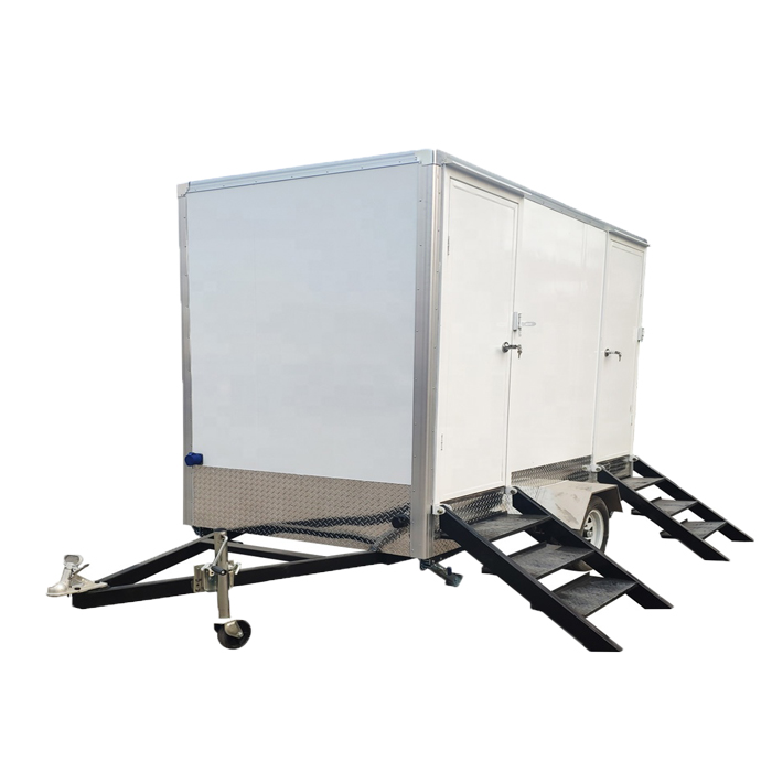 Outdoor Mobile Bathroom Portable Restroom Trailers Used Portable Toilets For Sale